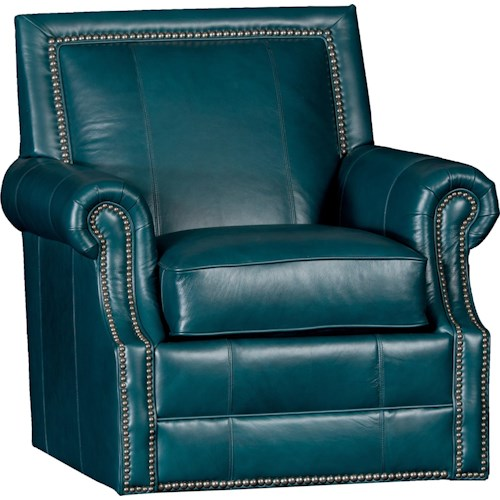 Mayo 4110 Traditional Roll Arm Swivel Chair