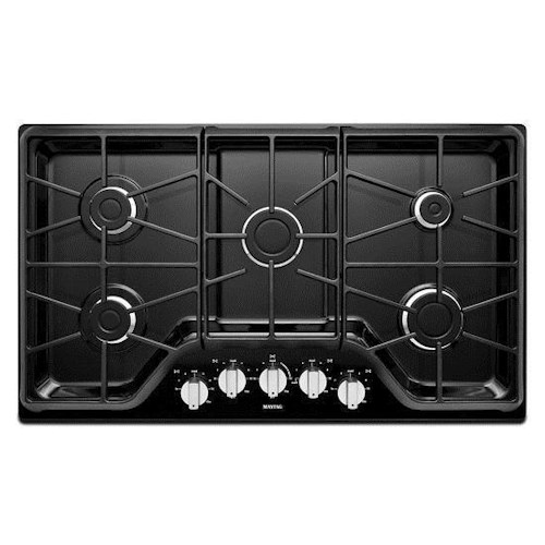 Maytag Gas Cooktops 36-inch 5-burner Gas Cooktop with Power™ Burner