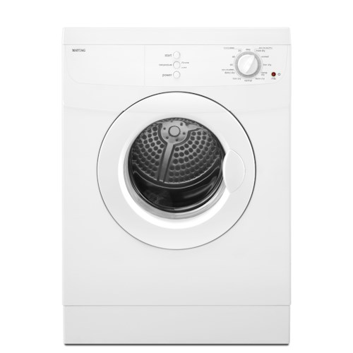 Maytag Electric Dryers 3.8 Cu. Ft. Compact Electric Dryer with GentleBreeze™ Drying System