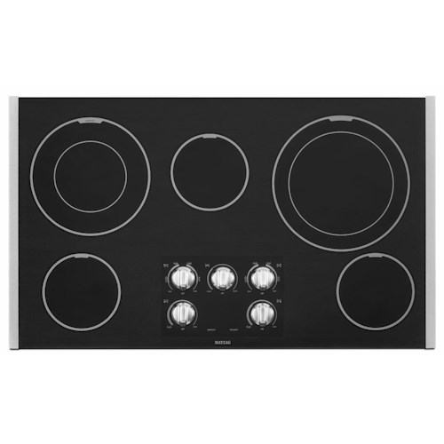 Maytag Electric Cooktops 36-inch Electric Cooktop with Two Dual-Choice™ Elements