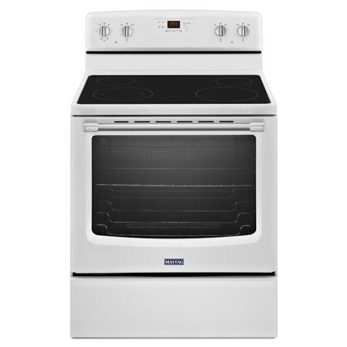 Maytag Electric Ranges 6.2 cu. ft. Electric Freestanding Range with Stainless Steel Handles