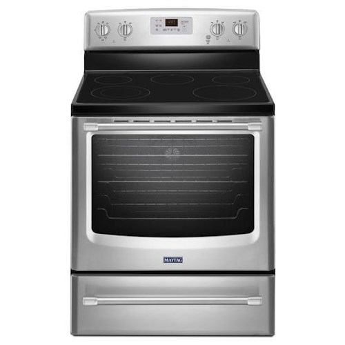 Maytag Electric Ranges 6.2 cu. ft. Electric Freestanding Range with Convection Oven