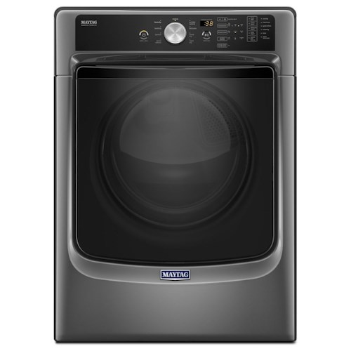 Maytag Front Load Electric Dryers 2014 Large Capacity Dryer with Sanitize Cycle and PowerDry System – 7.4 cu. ft.