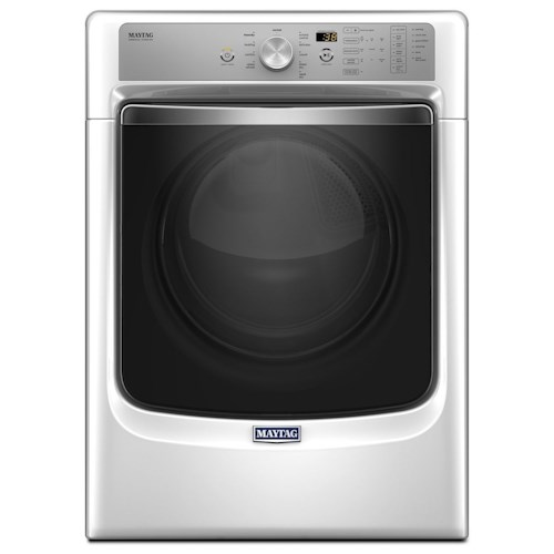 Maytag Front Load Electric Dryers Large Capacity Dryer with Refresh Cycle with Steam and PowerDry System – 7.4 cu. ft.