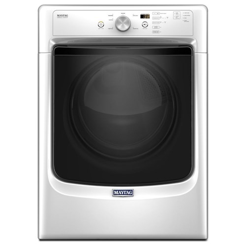 Maytag Front Load Gas Dryer Large Capacity Dryer with Wrinkle Prevent Option and PowerDry System – 7.4 cu. ft.