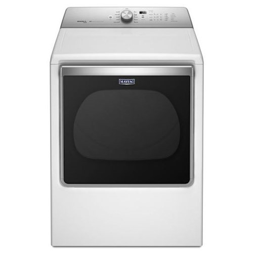 Maytag Front Load Gas Dryer 8.8 Cu. Ft. Extra-Large Capacity Gas Dryer with Advanced Moisture Sensing