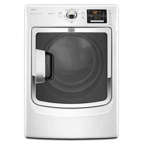 Maytag Gas Dryers 7.4 Cu. Ft. Maxima® High-Efficiency Front-Load Gas Steam Dryer
