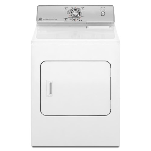 Maytag Gas Dryers 7.0 Cu. Ft. Front-Load Gas Dryer with GentleBreeze™ Drying System