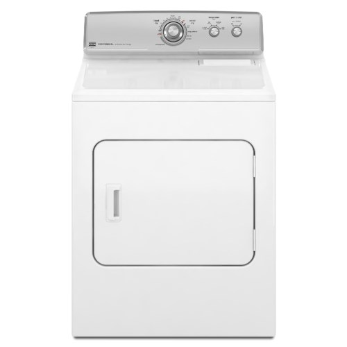 Maytag Gas Dryers 7.0 Cu. Ft. Front-Load Centennial Gas Dryer with IntelliDry® Moisture Sensor