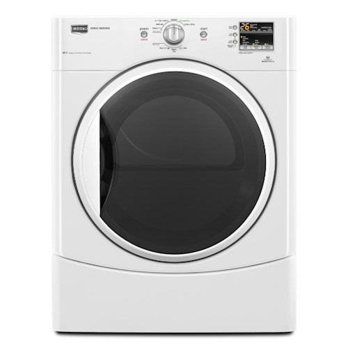 Maytag Gas Dryers 6.7 Cu. Ft. Performance Series High-Efficiency Front-Load Gas Dryer
