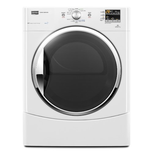 Maytag Gas Dryers 6.7 Cu. Ft. Performance Series High-Efficiency Front-Load Gas Steam Dryer