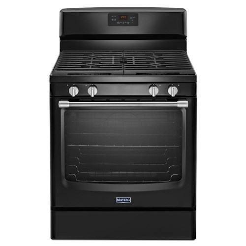Maytag Gas Ranges 5.8 cu. ft. Maytag® Gas Freestanding Range with Stainless Steel Handles