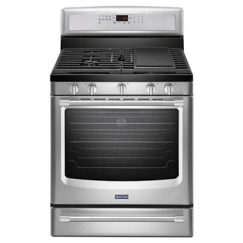 Maytag Gas Ranges 5.8 cu. ft. Gas Freestanding Stove with Griddle
