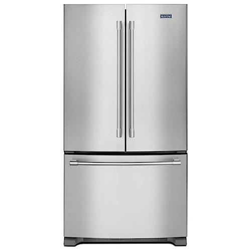 Maytag Maytag French Door Refrigerators 36-Inch Wide French Door Refrigerator - 25 Cu. Ft.