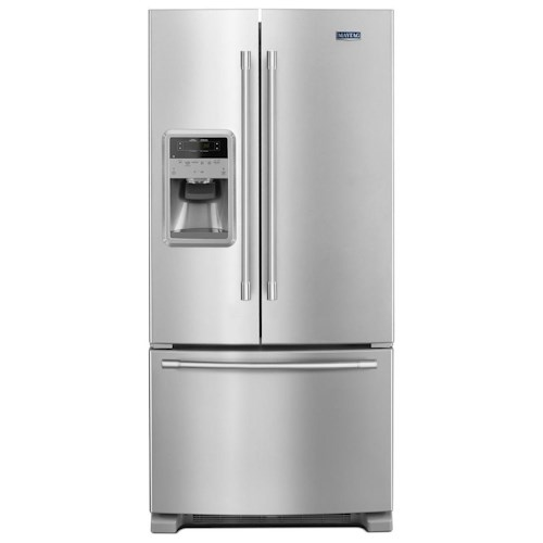 Maytag Maytag French Door Refrigerators 33- Inch Wide French Door Refrigerator with Beverage Chiller™ Compartment - 22 Cu. Ft.