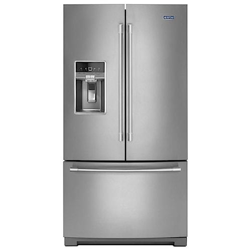 Maytag Maytag French Door Refrigerators 36- Inch Wide French Door Refrigerator with Dual Cool® Evaporators - 27 Cu. Ft.