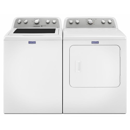 Maytag Washer and Dryer Sets BRAVOS® 4.3 Cu. Ft. Top Load Washer and BRAVOS® 7.0 Cu. Ft. Dryer