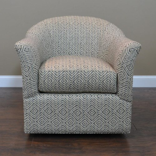 BeModern 0211 Curved Swivel Glider Chair