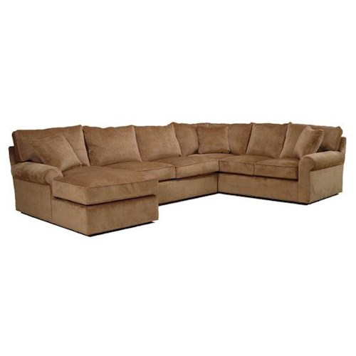BeModern Harris Sectional Sofa with Left-Arm-Facing Chaise