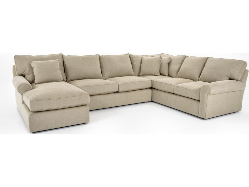 harris sectional sofa with left arm facing chaise