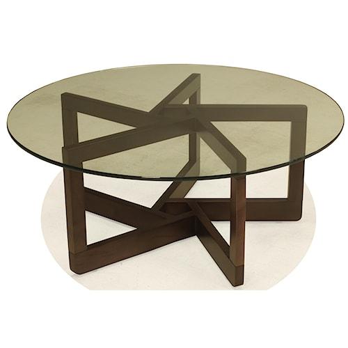 BeModern Kaia Round Cocktail Table