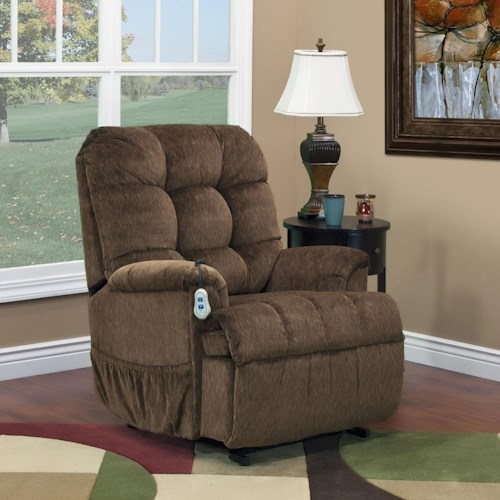 Med-Lift & Mobility 5500 Wall-Away Lift Recliner with Tufted Back