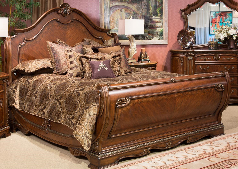Michael Amini Bella Veneto King Bed Ivan Smith Furniture