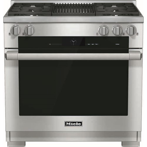 Miele Dual Fuel Ranges - Miele HR1935 DF GR 36