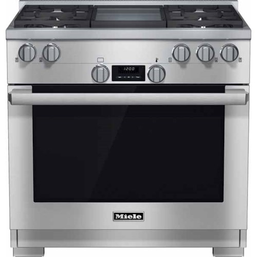 Miele Gas Ranges - Miele HR1136 GD 36