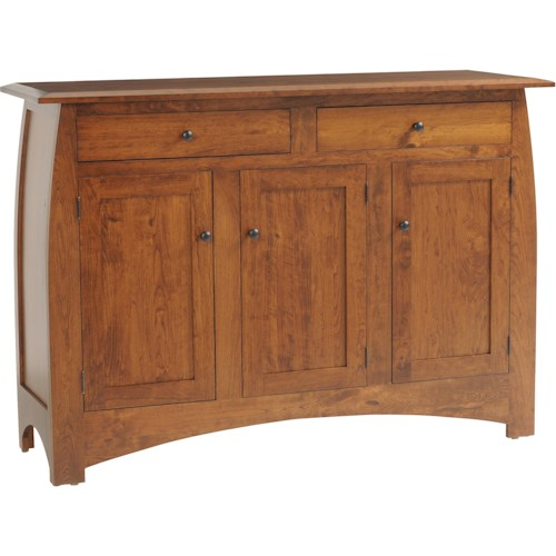 Rotmans Amish Davidson Meadow Dining Sideboard w/ 3 Drawers