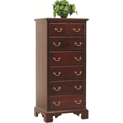 Rotmans Amish Elegant River Bend Lingerie Chest with 6 Drawers