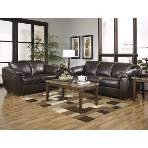 Millennium Franden DuraBlend - Cafe Stationary Living Room Group