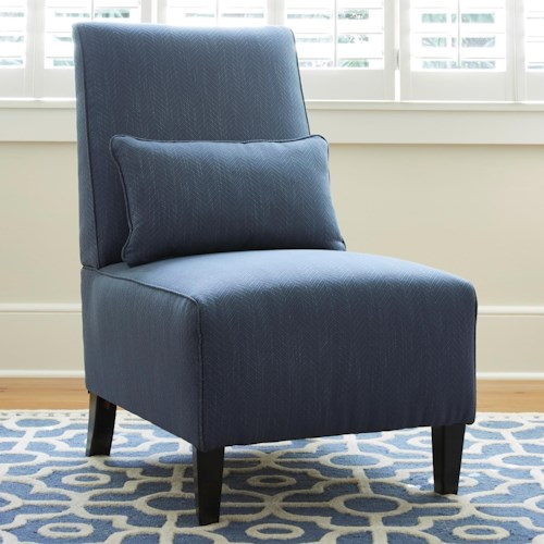 Millennium Harahan Armless Chair with Lumbar Pillow