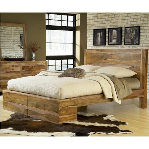 Modus International Atria California King Panel Bed