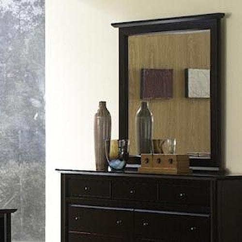 Modus International City II Vertical Dresser Mirror
