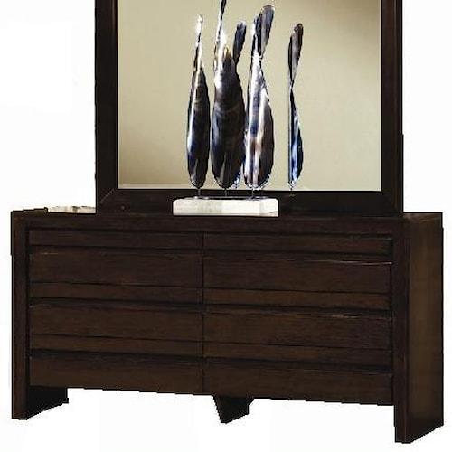 Modus International Element Contemporary Four Drawer Dresser