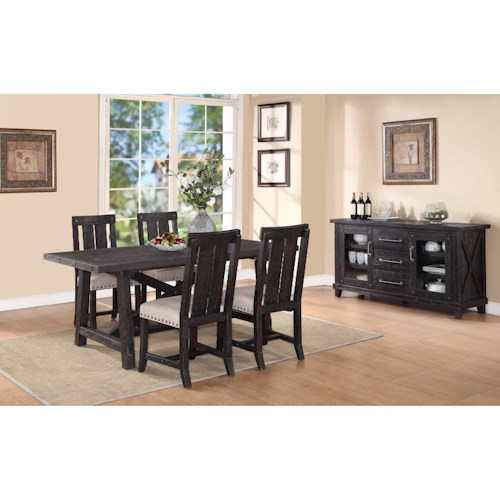 Modus International Yosemite Casual Dining Room Group Pilgrim Furniture City Casual Dining