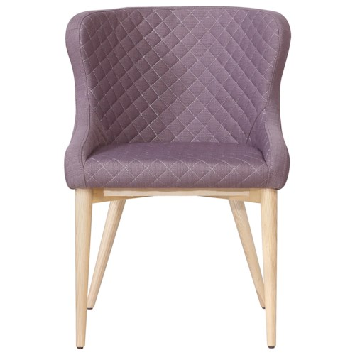 Moe's Home Collection Arturo  Dining Chair Light Purple