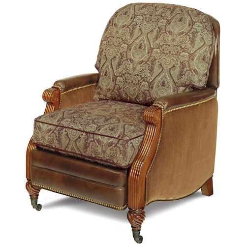 Motioncraft By Sherrill Recliners Traditional Push Back
