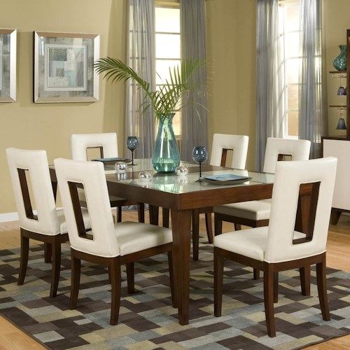 Najarian Enzo Dining 7 Piece Table and Chair Set