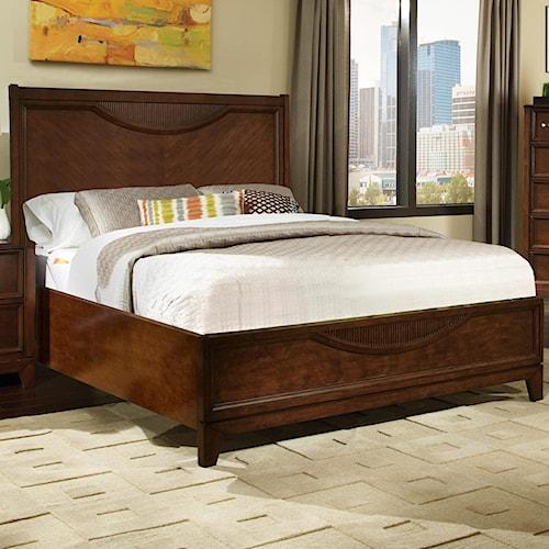 Najarian Melrose  Queen Platform Bed With Block Feet