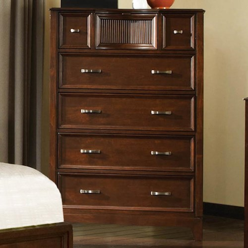 Najarian Melrose  Chest of Drawers With 6 Drawers