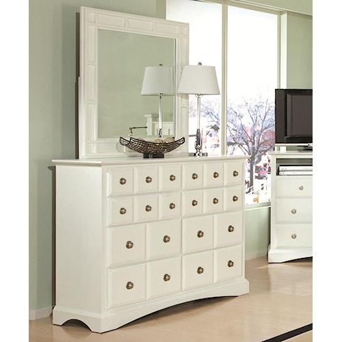 Najarian Palazzo Eight-Drawer Dresser & Mirror Set