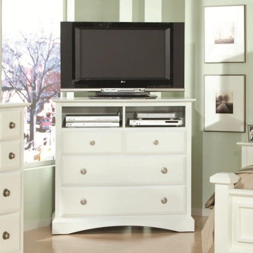 Najarian Palazzo Media Drawer Chest