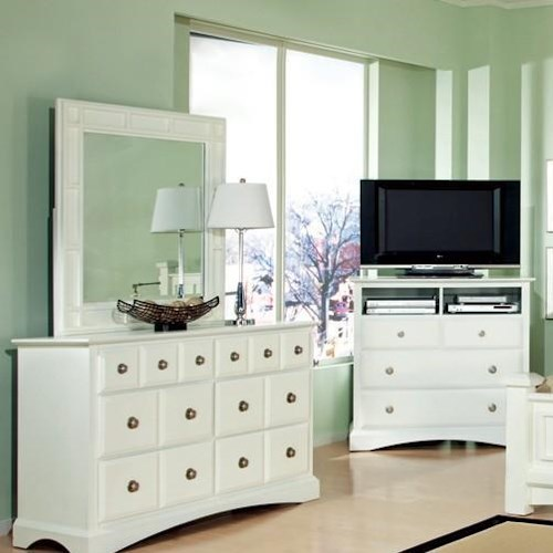 Najarian Palazzo Youth Bedroom Square Dresser Mirror