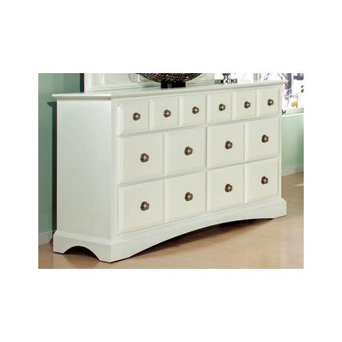 Najarian Palazzo Youth Bedroom Youth Dresser with 6 Drawers
