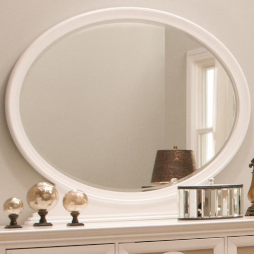 Najarian Paris Youth Bedroom Oval Dresser Mirror