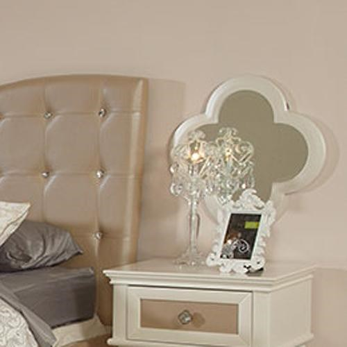 Najarian Paris Youth Bedroom Nightstand Mirror