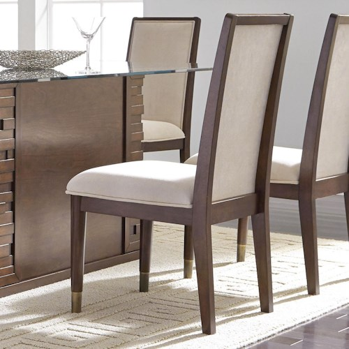 Najarian Rodeo Contemporary Upholstered Dining Side Chair