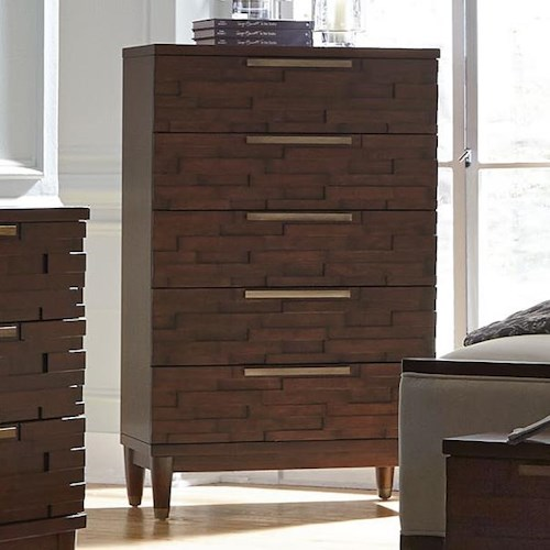 Najarian Rodeo Contemporary Chest with Five Drawers